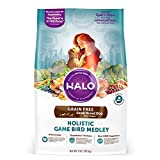 Halo Spot's Stew Holistic Dry Dog Food - Turkey - Duck - and Pheasant - 4 LB Bag of Small Breed Dog Food(Packaging May Vary)