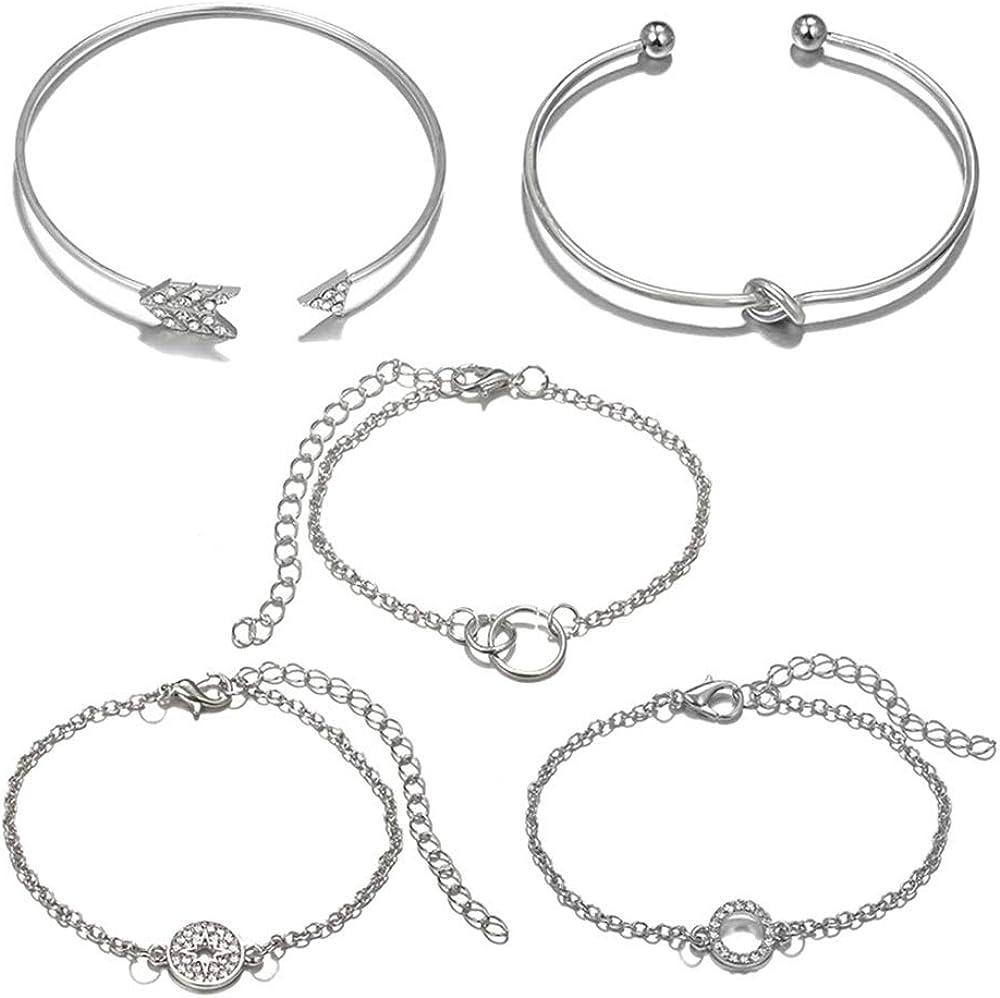 SEVENSTONE Layered Bracelet...