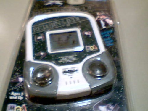 America Lucasfilm Ltd. Star Wars Return of the Jedi Lcd Electronic Handheld Model#mga-224 Blister Package (Micro Games of America Is a Division of the Abc Group)(1995 Lucasfilm Version) (Mga Electronic Handheld)
