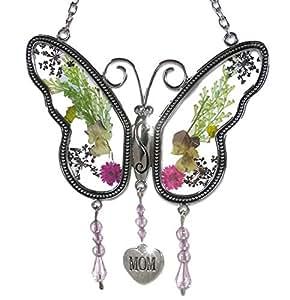 Mamá Mariposa Madre cairel con presiona Flores alas Carga Libre.