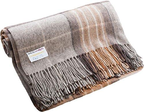 (iLuv Luxury Lambswool Blanket Throw in MacKellar Tartan)