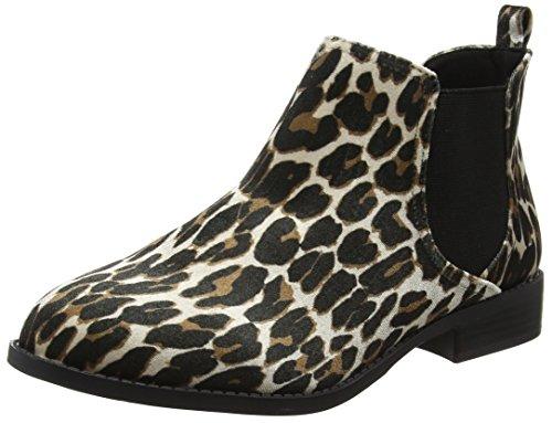 Boots Women's Moon Chelsea Leopard Perkins Dorothy Multicoloured xZUqTI8