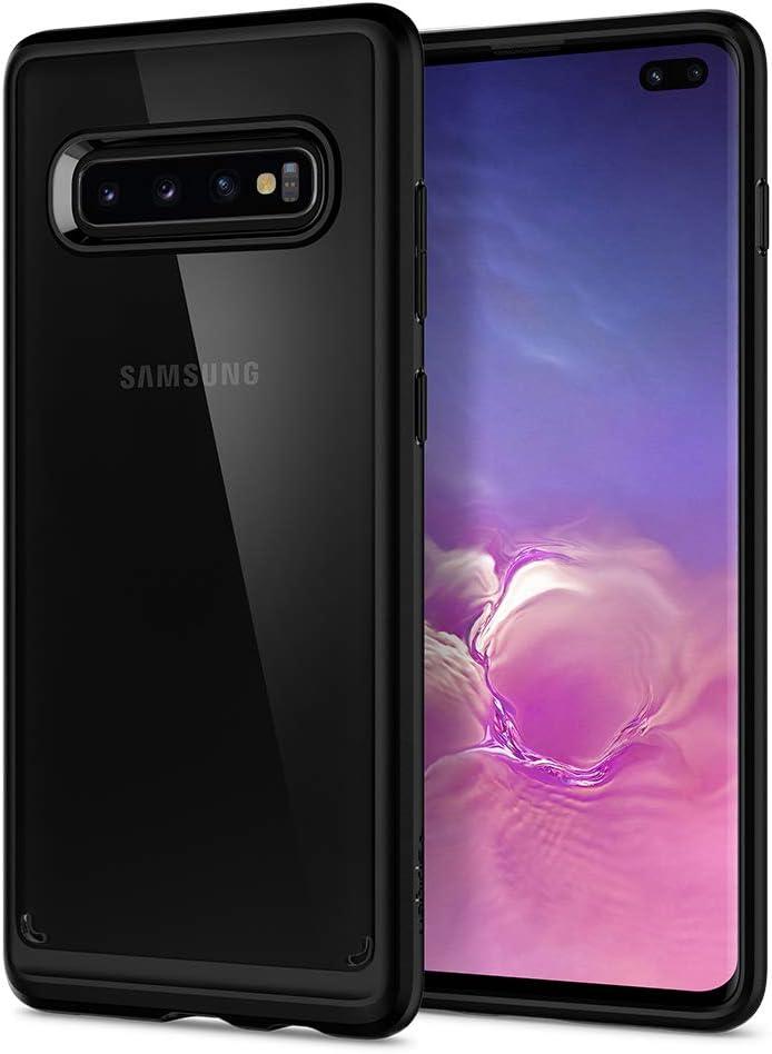 Spigen Compatible con Galaxy S10 Plus /S10+ Ultra Hybrid con Tecnología de cojín de Aire y protección híbrida de la caída: Amazon.es: Electrónica