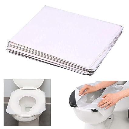 Sensational Amazon Com 100 Pc Disposable Toilet Seat Covers Paper Spiritservingveterans Wood Chair Design Ideas Spiritservingveteransorg