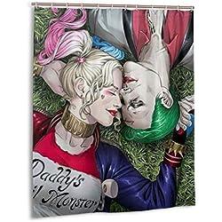 51rWLv01SzL._AC_UL250_SR250,250_ Harley Quinn Shower Curtains