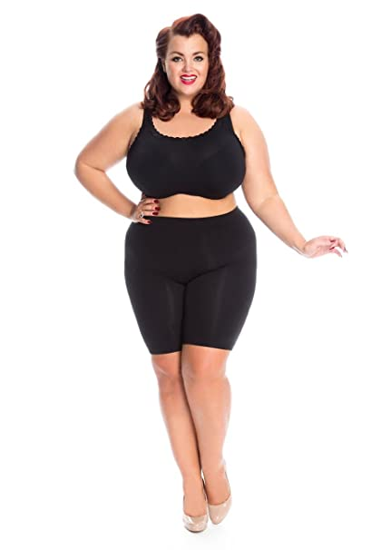 dfb76dbd03415 All Woman Plus Size Anti Chafing Long Leg Knickers Guaranteed No Riding Up  SINGLE PAIR  Amazon.co.uk  Clothing