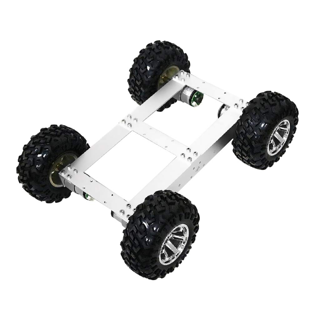 Almencla 3色選択可能 DIYの4WD輪駆動ダブルデッキスマートロボット車シャーシ スマートカー おもちゃの車 3色選択可能 - - 赤い輪 B07PQRN2L2 B07PQRN2L2 スライバーホイール スライバーホイール, 007速配コンタクトレンズ カラパラ:c63a8046 --- 2017.goldenesbrett.net