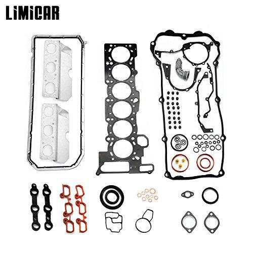 (LIMICAR Cylinder Full Head Gasket Set Fit BMW 325CI 325I 325XI 330CI 330I 525I 530I X3 X5 Z3 Z4 2.5L 3.0L L6 DOHC HS26245PT HS9325)