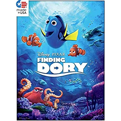Ceaco Disney/Pixar 5 in 1 Multipack Jigsaw Puzzles, (2) 300 Pieces, (2) 500 Pieces, (1) 750 Pieces: Toys & Games