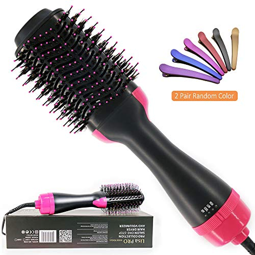 Hair Dryer Brush, Aitmexcn One Step Hair Dryer & Volumizer Hot Air Brush 3-IN-1 Negative Ions Hair Dryer, Reduce Frizz and Static, Curler & Straightener for All Hair Types