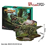 3D Jigsaw Puzzle Tyrannosaurus Rex(T-Rex) CubicFun 3D Puzzle P668h 36 Pieces Decorative Fashion Best Seller Cubic Fun  Exiting Fun Educational Historic Playing Building Game DIY Holiday kids Best Gift Toy Set