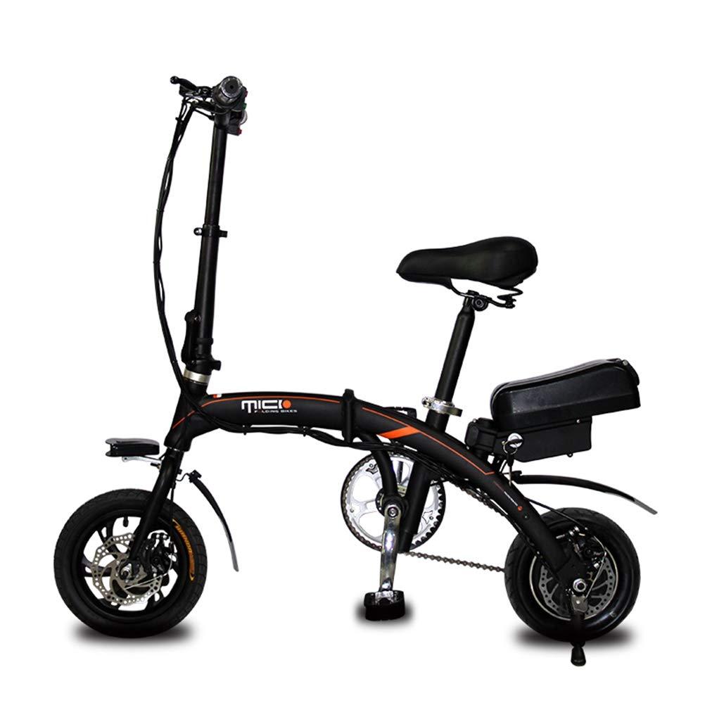 despacho de tienda Lhcar Bicicletas eléctricas eléctricas eléctricas Plegables de 250 vatios para Adultos Bicicleta eléctrica de 36 V para mujeres Frenos de Disco de Ebike Bicicleta Batería de Litio extraíble de 40 km  descuento