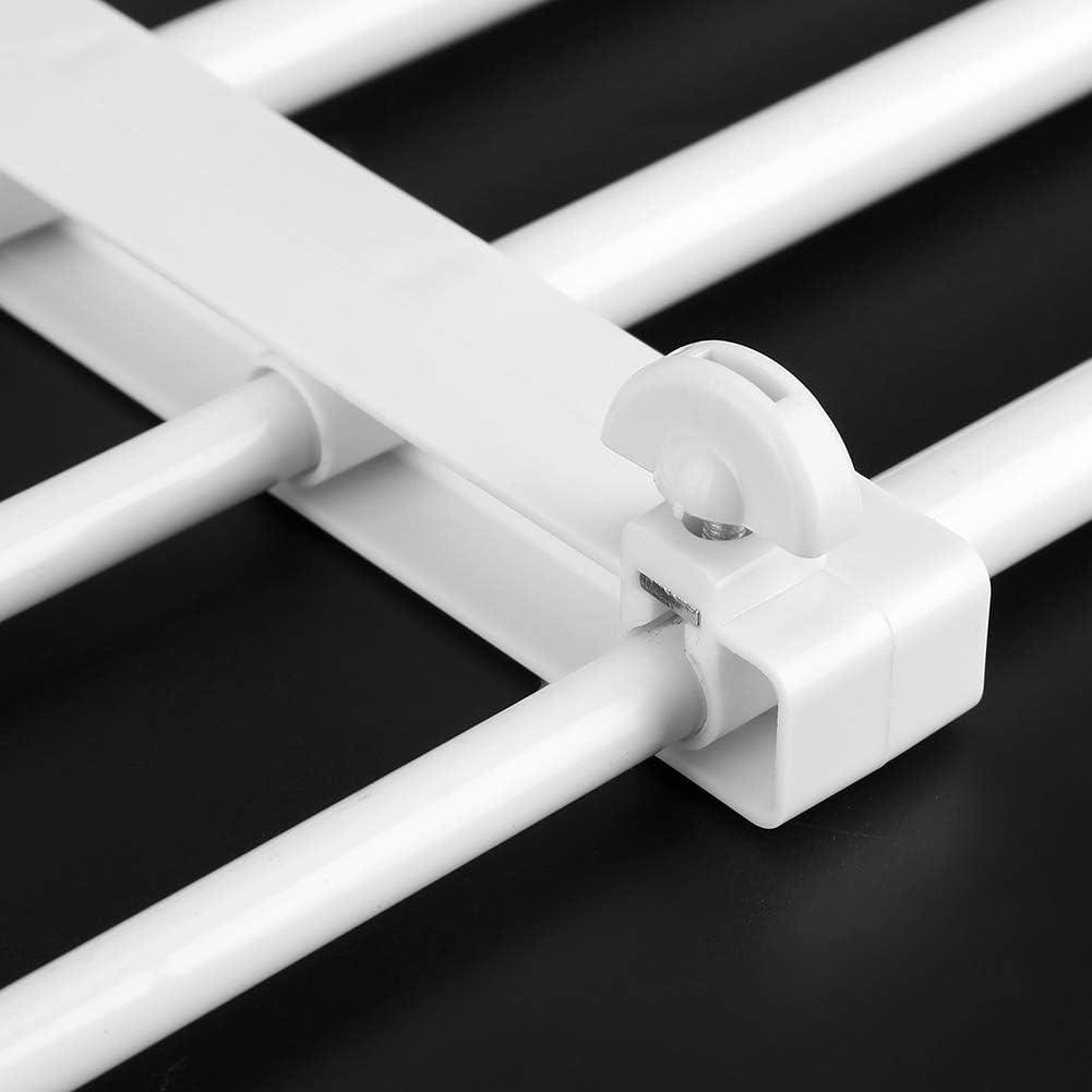 Divisorio per Guardaroba Regolabile in Ferro Ripiano divisorio per Armadio Materiale plastico per Armadio Guardaroba Camera da Letto fuwinkr Ripiano divisorio per Armadio