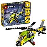 LEGO Aventura en Helicóptero Creator (31092) Juguete de Construccion para Niños