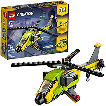 LEGO Creator 3in1 Helicopter Adventure 31092 Building Kit, 2019 (114 Pieces)