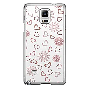 Loud Universe Nexus 6 2015 Love Valentine A Valentine 63 Transparent Edge Case - White/Red