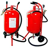 Domeiki Portable Air Sandblaster Sand Blaster 10 Gallon Air Media Abrasive Blasting Tank