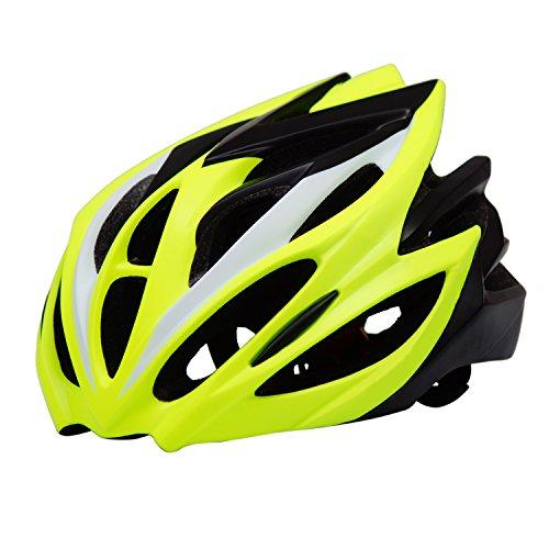 Image of the Crazy Mars Mountain Biking Helmet-Bicycle Helmet Men Bike Helmets Lightweight Helmet for Adult Cycling Green