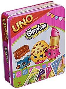 Shopkins Uno Game, Ages 5+