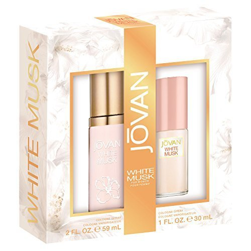Jovan White Musk Perfume Set for Women by Jovan