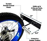 StoreYourBoard BLAT Bike Fat Tire Wall Rack, Holds