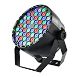 Coidak CO804 60W 54LEDS Super Bright RGB LED PAR Stage Light with DMX512 Control for Disco Club Party Bar