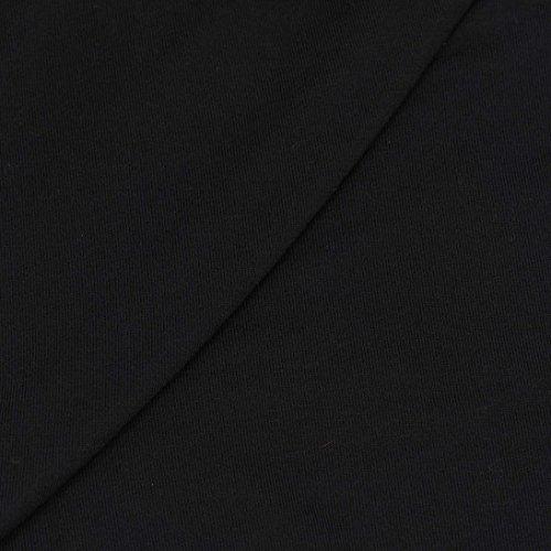 ESAILQ Abrigos Vestidos Vestir De Otoño E Invierno De Manga Larga Con Capucha Para Mujer Negro