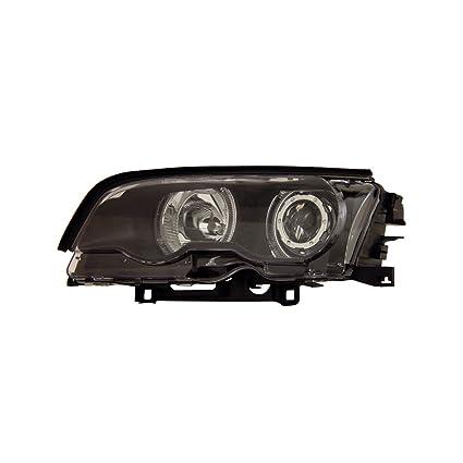 sppc Proyector Faros delanteros Halo Negro para BMW Serie 3 E46 2 ...