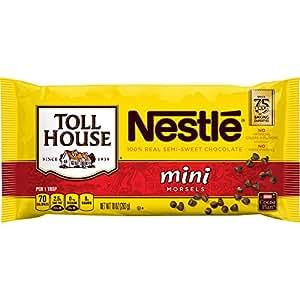 Nestle Toll House Real Semi-Sweet Chocolate Mini Morsels 12 oz