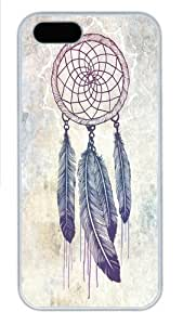 iPhone 5S Case and Cover -Catching Your Dreams Custom PC Hard Case Cover for iPhone 5/5S White