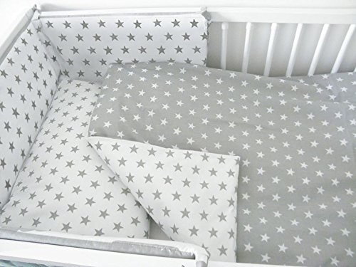 3 PIECE NURSERY BABY BEDDING SET (reg to fit COT 60x120cm) - Pattern 21 Baby Comfort