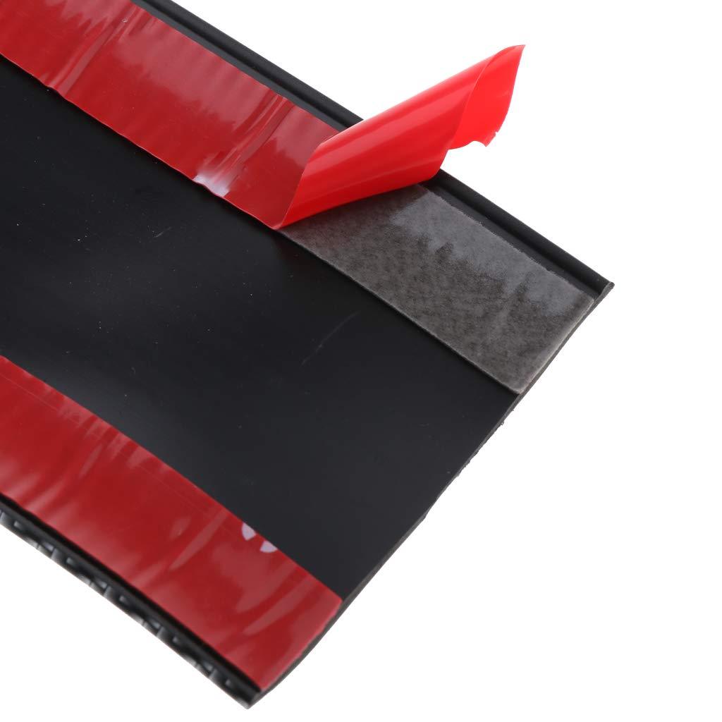 Homyl Striscia Modanatura Adesivo Guardia Davanzale Fibra Di Carbonio Auto Macchina 3cm