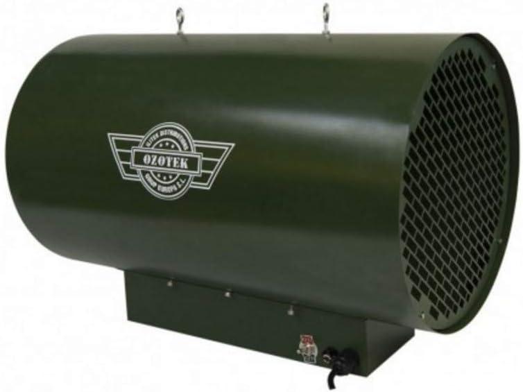 OZOTEK Generador de Ozono Pro 250 - Purificador de Aire Industrial para Cultivos Habitaciones Marihuana Cannabis …