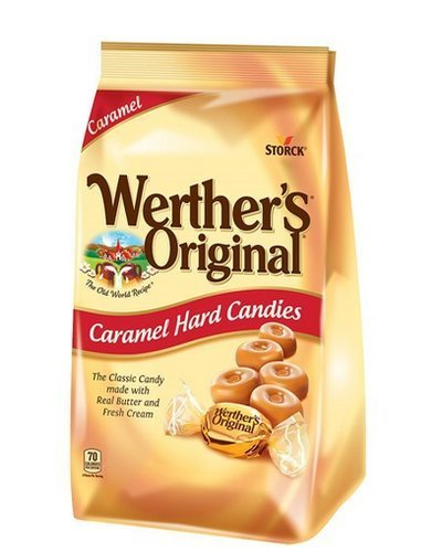 Werther's Original Caramel Hard Candy, 34.0-Ounce Bags - Pack of 5