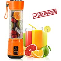 Blufied Portable USB Personal Blender with Travel Jar