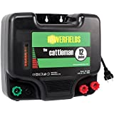Powerfields HP-1200 The Cattleman 480 Acres Electric Fence Energizer