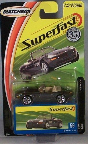 2004 Matchbox Superfast BMW Z8 Grey #59