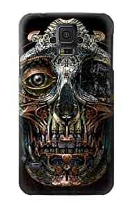 S1685 Steampunk Skull Head Case Cover For Samsung Galaxy S5