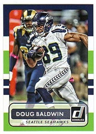 official photos 09756 ab73b Amazon.com: 2015 Donruss #92 Doug Baldwin Seahawks NFL ...