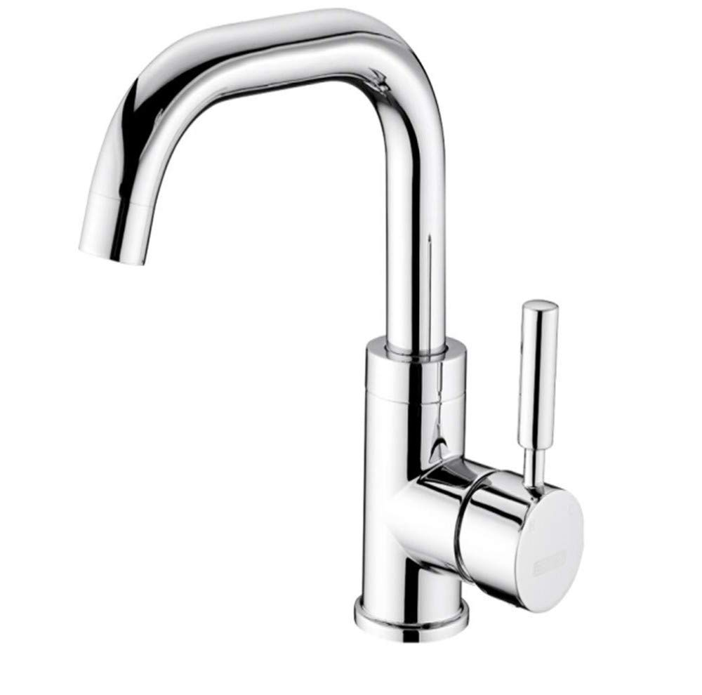 Water Tapdrinking Designer Archcopper Core Hot and Cold redatable Single Hole Faucet Bathroom Wash Basin Bathroom Cabinet Faucet