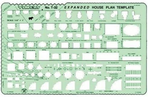 picture of Timely Expanded House Plan Template (32T