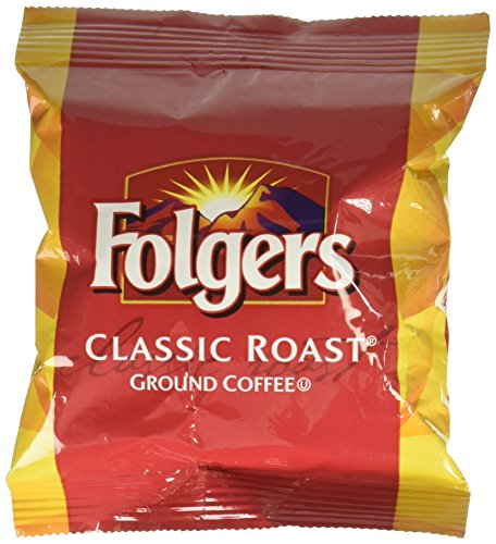 Folgers Classic Roast Ground Coffee Packets 1.2 oz. 42 ct.