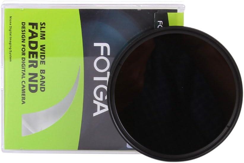 Andoer 49mm Slim Fader Variable ND Filter Adjustable Neutral Density ND2 to ND400 Title