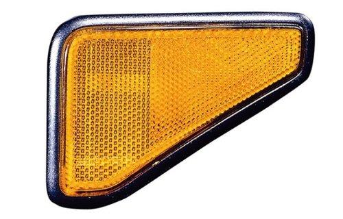 Honda Element Replacement Side Marker Light Assembly (Black Housing) - 1-Pair (Honda Element Side Marker)