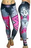 Wonder Woman Superhero Leggings Yoga Pants Compression Tights