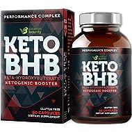 Keto BHB Exogenous Ketone Supplement - Beta Hydroxybutyrate Ketone Salt Pills - 30 Servings