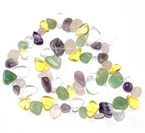 Top Quality Natural Mixed Gemstones Smooth Teardrop Loose Beads Free-form ~18x10mm beads (~16