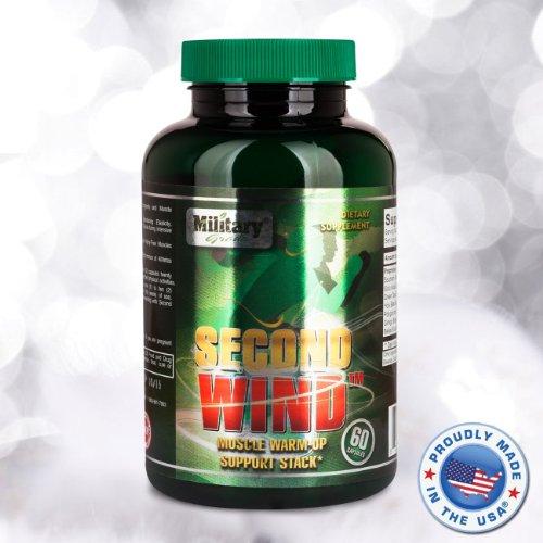 Второе дыхание: витаминный комплекс для восстановления мышц после тренировок и нагрузок, 60 таблеток (Second Wind / Post-workout Muscle Recovery and DOMS (delayed onset muscle soreness) Support / Military Tested)