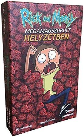Crazy pawn- Juego de Mesa Tráfico de Megasemillas Rick & Morty, Multicolor (8436564810212)