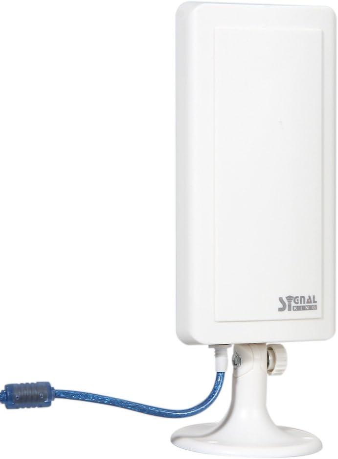 winnereco WiFi Antena Amplificador de larga distancia inalámbrico hasta 3000 m de distancia Hot Spots USB